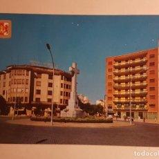 Postales: CACERES, PLAZA DE AMERICA CRUZ DE LOS CAIDOS. Lote 147864198