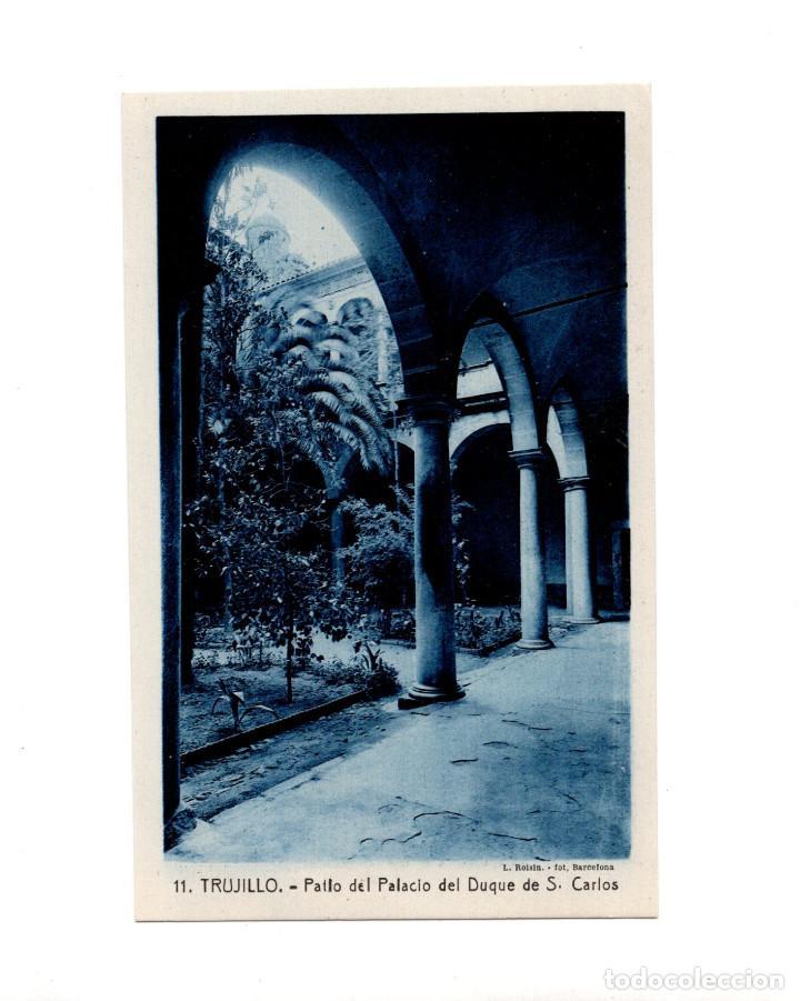 TRUJILLO.(CÁCERES).- PATIO DEL PALACIO DEL DUQUE DE S. CARLOS (Postales - España - Extremadura Antigua (hasta 1939))