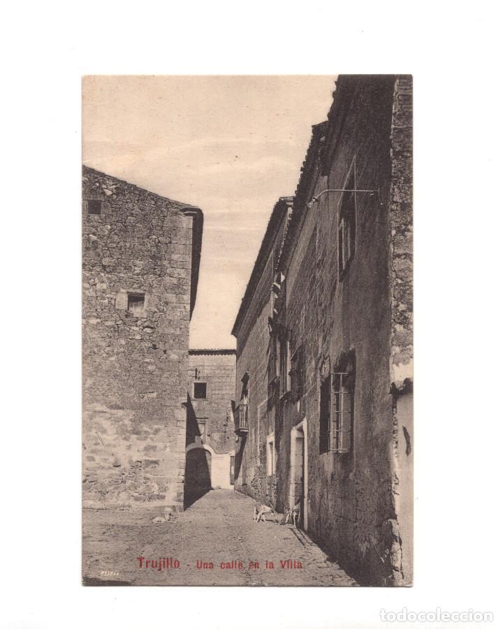 TRUJILLO.(CÁCERES).- UNA CALLE EN LA VILLA (Postales - España - Extremadura Antigua (hasta 1939))