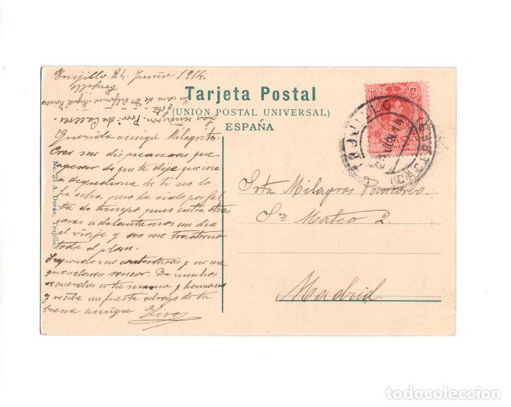Postales: TRUJILLO.(CÁCERES).- UNA CALLE EN LA VILLA - Foto 2 - 148039118