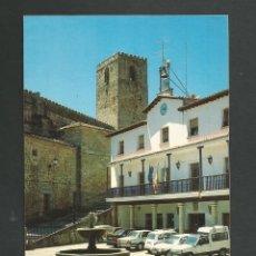 Postales: POSTAL SIN CIRCULAR - JARANDILLA LA VERA 2 - PLAZA MAYOR - CACERES - EDITA FOTO AMANCO. Lote 148145166