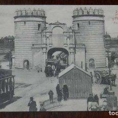 Postales: POSTAL DE BADAJOZ N.2. PUERTA PALMAS Y PLAZA ALFONSO XIII. FOT. BIENVENIDO. ED. LA LUZ. NO CIRCULADA. Lote 148165950