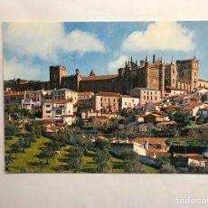 Cartes Postales: GUADALUPE (CÁCERES) POSTAL NO.1, VISTA GENERAL DEL MONASTERIO DESDE EL SUR.. Lote 148338672