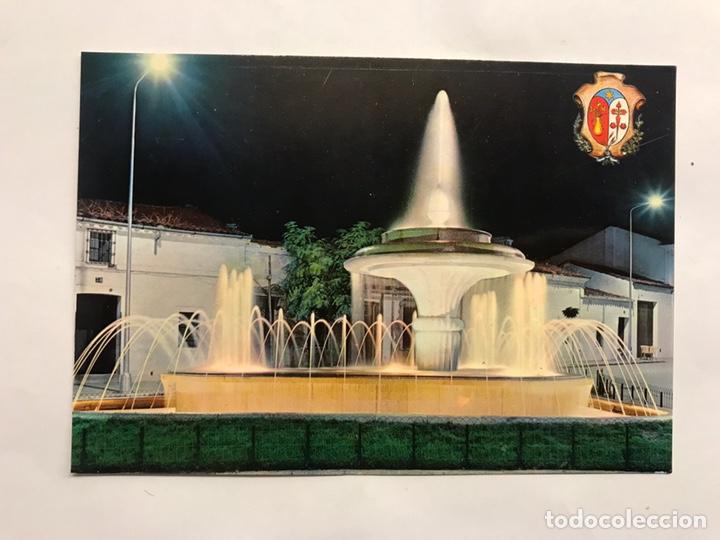 LOS SANTOS DE MAIMONA (BADAJOZ) POSTAL NO.3, FUENTE LUMINOSA. EDITA: EDICIONES VISTABELLA (Postales - España - Extremadura Moderna (desde 1940))