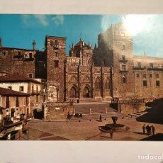 Cartes Postales: GUADALUPE (CÁCERES) POSTAL NO.3, PLAZA Y FACHADA PRINCIPAL DEL MONASTERIO (S.XIV-XV). Lote 149552641