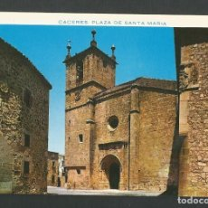 Postales: POSTAL SIN CIRCULAR - CACERES 24 - PLAZA DE SANTA MARIA - EDITA PERGAMINO. Lote 150830274