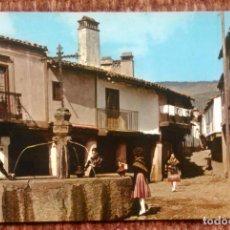 Postales: GUADALUPE - CACERES - FUENTE DE LOS TRES CHORROS. Lote 151373218