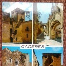 Postales: CACERES - VISTAS. Lote 151373270
