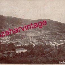 Postales: ANTIGUA POSTAL DE BAÑOS DE MONTEMAYOR (CACERES) VISTA GENERAL DEL PUEBLO. Lote 151727350