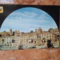 Postales: POSTAL TRUJILLO, CACERES, PLAZA MAYOR. Lote 152777922