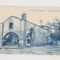 Postales: RARA POSTAL. VALENCIA DE ALCÁNTARA. CÁCERES. ERMITA DE SAN ANTONIO. Lote 153961098