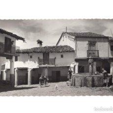 Postales: GUADALUPE.(CÁCERES).- FUENTE DE LOS TRES CHORROS. Lote 154707706