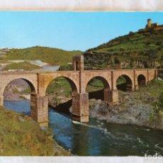 Postales: ALCANTARA 2004 PUENTE ROMANO ED ARRIBAS CIRCULADA ABRIL 1970. Lote 155272046