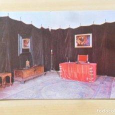 Postales: MONASTERIO DE SAN JERÓNIMO DE YUSTE - DESPACHO DEL EMPERADOR CARLOS V Nº 8 LUIS PEREZ S/C. Lote 155460046