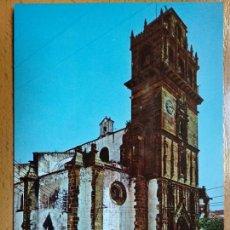 Postales: AZUAGA BADAJOZ. IGLESIA PARROQUIAL.. Lote 155604062