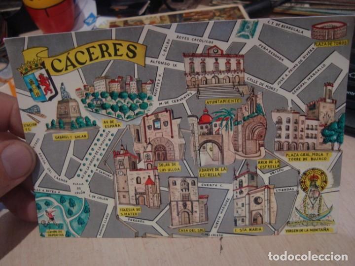POSTAL DE CÁCERES FRESMO AÑOS 60 (Postales - España - Extremadura Moderna (desde 1940))