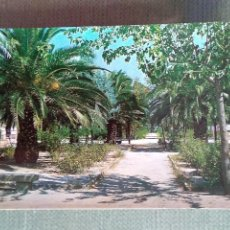 Postales: POSTAL NAVALMORAL DE LA MATA CACERES PARQUE MUNICIPAL DE D. CASTO LOZANO. Lote 156578494