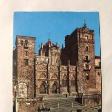 Postales: GUADALUPE (CÁCERES) POSTAL NO.16, FACHADA PRINCIPAL DEL TEMPLO DE LA HISPANIDAD (S. XIV - XV). Lote 156756161