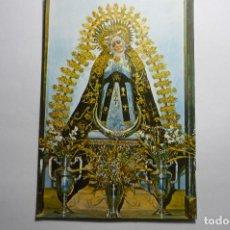 Postales: POSTAL BADAJOZ - VIRGEN SOLEDAD PATRONA. Lote 160755526