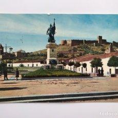 Postales: MEDELLÍN (BADAJOZ) POSTAL NO 2007, MONUMENTO A HERNAN CORTES Y CASTILLO. EDITA: EDICIONES ARRIBAS. Lote 160773662
