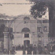Postales: MONTEMAYOR (CACERES) - ENTRADA AL BALNEARIO. Lote 162380266
