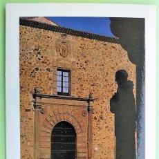 Postais: CÁCERES. 3 PALACIO DEL OBISPO. FOTÓGRAFO: MODESTO GALÁN. NUEVA. COLOR. Lote 163929014