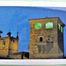 Postais: CÁCERES. 16 TORRE DE LOS GOLFINES DE ABAJO. CAMPANARIO DE ST. MARÍA. FOTÓGRAFO: MODESTO GALÁN. NUEVA. Lote 163929288