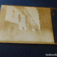 Postales: TRUJILLO CACERES UNA CALLE FAMILIA ORTIZ DE URBINA POSTAL FOTOGRAFICA REVERSO SIN DIVIDIR. Lote 163980078