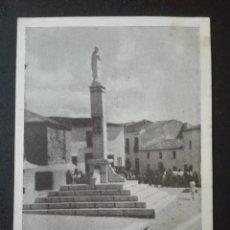 Postales: BADAJOZ ALANGE PLAZA DE ESPAÑA FOTO S ÁLVAREZ. Lote 164835670