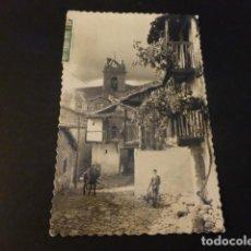 Postales: BAÑOS DE MONTEMAYOR CACERES CASTILLEJO CALLE TIPICA. Lote 165014374