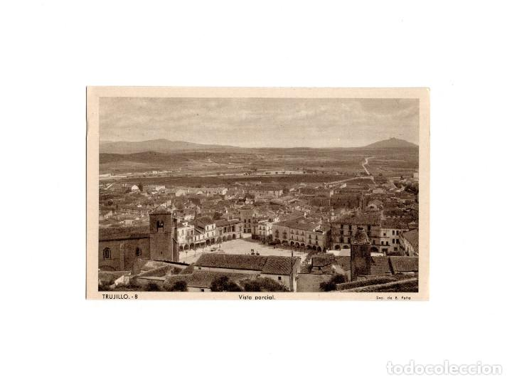 TRUJILLO.(CÁCERES).- VISTA PARCIAL. (Postales - España - Extremadura Antigua (hasta 1939))