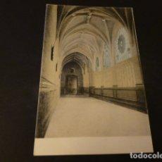 Postales: BADAJOZ CLAUSTRO DE LA CATEDRAL ED. ANTONIO ARQUEROS Nº 22 COLOREADA REVERSO SIN DIVIDIR. Lote 165411874