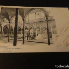 Postales: TRUJILLO CACERES INTERIOR DEL MERCADO ED. A DURAN Nº 6. Lote 165412738