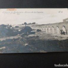 Postales: VALENCIA DE ALCANTARA CACERES ARCOS DE LA CAÑERIA ED. SANCHEZ LUIS 2ª SERIE Nº 12. Lote 165477918