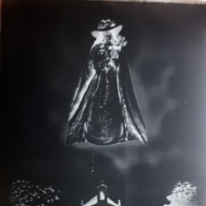 Postales: ANTIGUO CLICHÉ DE NUESTRA SEÑORA DE BOTOA BADAJOZ NEGATIVO EN CRISTAL . Lote 165901098