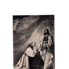 Postales: MONASTERIO DE GUADALUPE.(CÁCERES).- EL VENERABLE PADRE SALMERÓN.- ZURBARÁN, 1639.. Lote 166997720