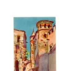 Postales: REAL MONASTERIO DE GUADALUPE.(CÁCERES).- TORREON Y RUINAS ENTRE AMBOS CLAUSTROS. Lote 178570506