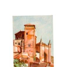 Postales: REAL MONASTERIO DE GUADALUPE.(CÁCERES).- PABELLÓN DE LA LIBRERÍA Y SALA CAPITULAR.. Lote 167003716