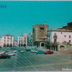 Postales: CTC - Nº 424 CACERES - PLAZA GENERAL MOLA - EDICIONES PARIS - SIN CIRCULAR. Lote 167076760