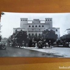 Postales: POSTAL BADAJOZ - 5 PLAZA MINAYO Y TEATRO LOPEZ DE AYALA. Lote 167492036