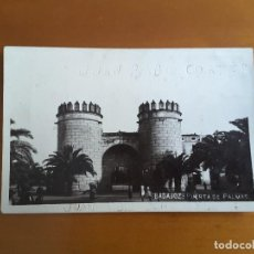 Postales: POSTAL BADAJOZ - PUERTA DE PALMAS. Lote 167492108