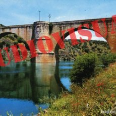 Postales: POSTAL ALMARAZ DE TAJO ( CACERES ) - PUENTE ROMANO SOBRE EL RIO TAJO - ESCRITA - 1971. Lote 167534832