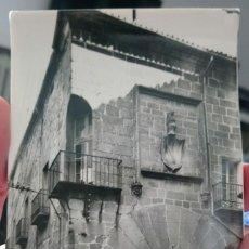 Postales: POSTAL CÁCERES ANTIGUA AÑOS CINCUENTA. Lote 167594704