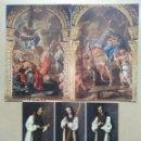 Postales: LOTE DE 3 POSTALES MONASTERIO DE GUADALUPE, CACERES. Lote 168457752