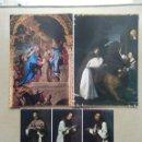 Postales: LOTE DE 3 POSTALES MONASTERIO DE GUADALUPE, CACERES. Lote 168457820