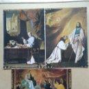 Postales: LOTE DE 3 POSTALES MONASTERIO DE GUADALUPE, CACERES. Lote 168457868
