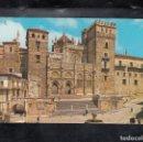 Postales: 86.- GUADALUPE. PLAZA Y FACHADA PRINCIPAL DEL MONASTERIO. Lote 168535668