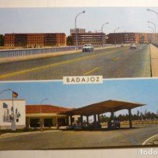 Postales: POSTAL BADAJOZ.- PUENTE NUEVO SOBRE GUADIANA Y PUESTO ADUANAS.ESCRITA. Lote 168909292