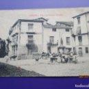 Postales: HERVAS (CACERES) PLAZA RELATOR GONZALEZ. ED. J.M.H. FOTOTIPIA CASTAÑEIRA ALVAREZ Y LEVENFELD 9X14CM.. Lote 168933364