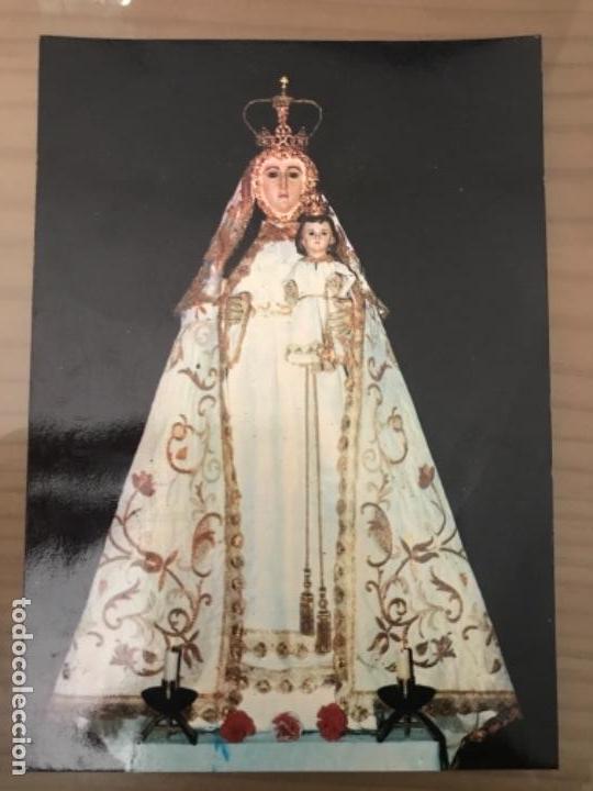 ANTIGUA POSTAL RELIGIOSA NTRA SRA DE LOS REMEDIOS MAGACELA BADAJOZ (Postales - España - Extremadura Moderna (desde 1940))
